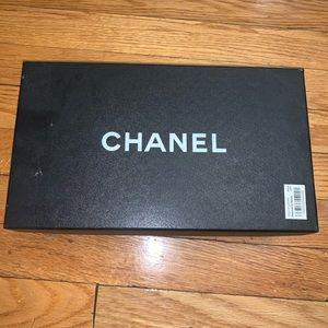 Chanel patent flats